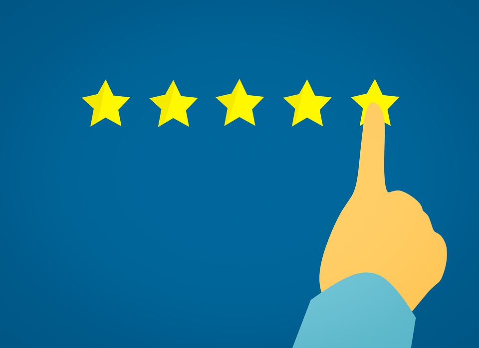 10 great ways to market self storage image shows a five star rating