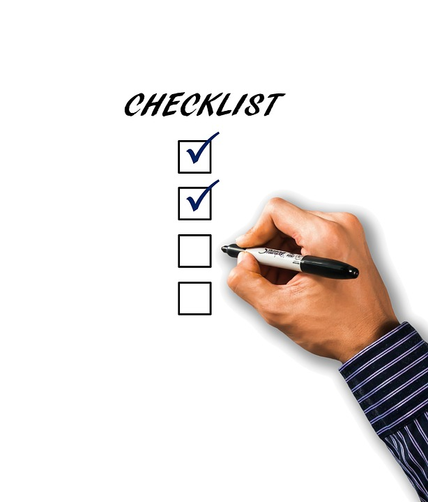 packing a storage unit checklist