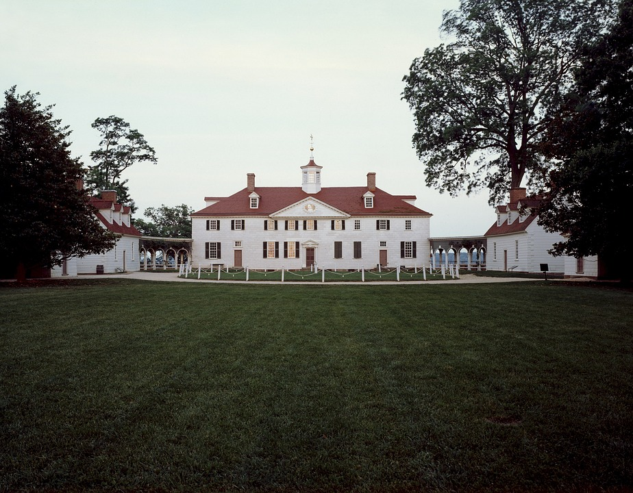 a picture of the mount vernon estate